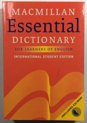Macmillan Essential Dictionary  for  Learners of English + CD -