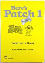 Here's Patch the Puppy 1 - Teacher's Book -