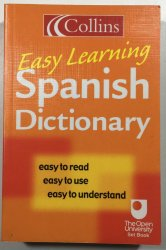 Easy Learning Spanish Dictionary -