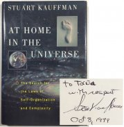 At Home in the Universe - The Search for Laws of Self-Organization and Complexity