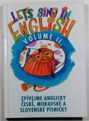 Let´s sing in English Volume II. -